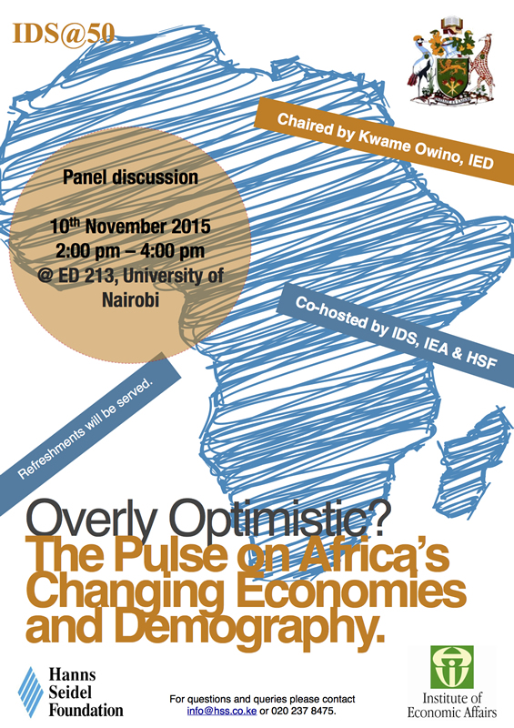 Overly Optimistic? The Pulse on Africa's Changing Economies and Demography