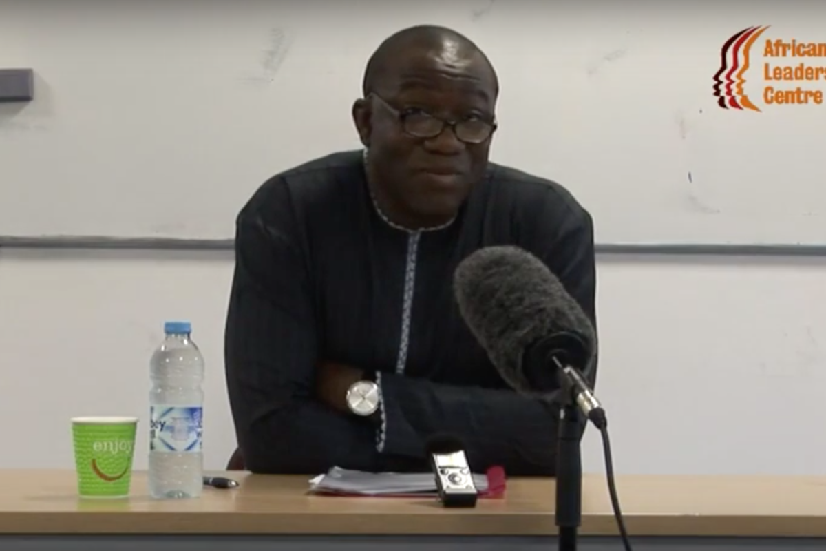 Lecture on Peacebuilding, Leadership and Democratic Consolidation in Africa