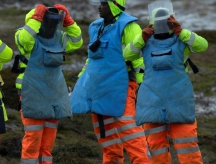 UK honours Zimbabwean deminers who made Falkland Islands landmine free